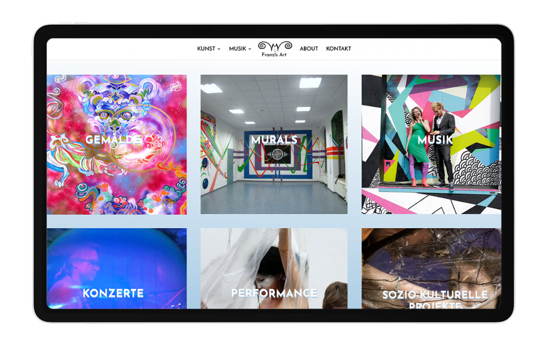 FranZis Art Artist Portfolio & Branding