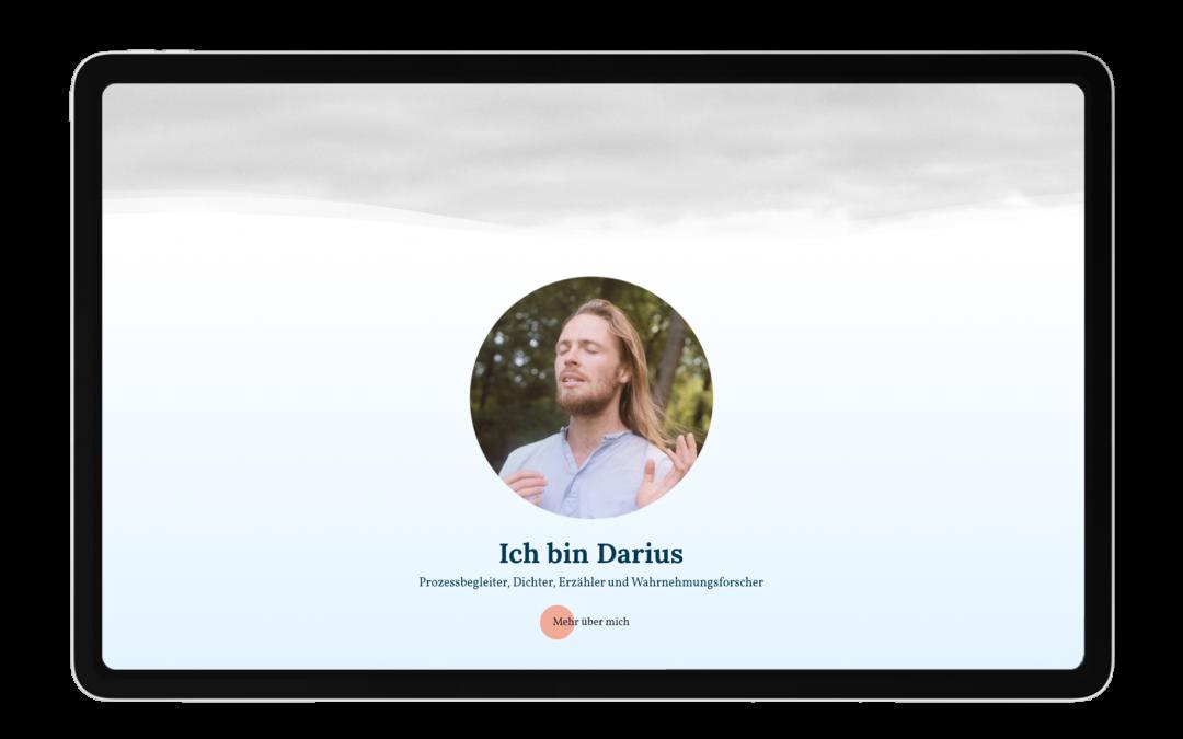 Darius Matthies Portfolio Website